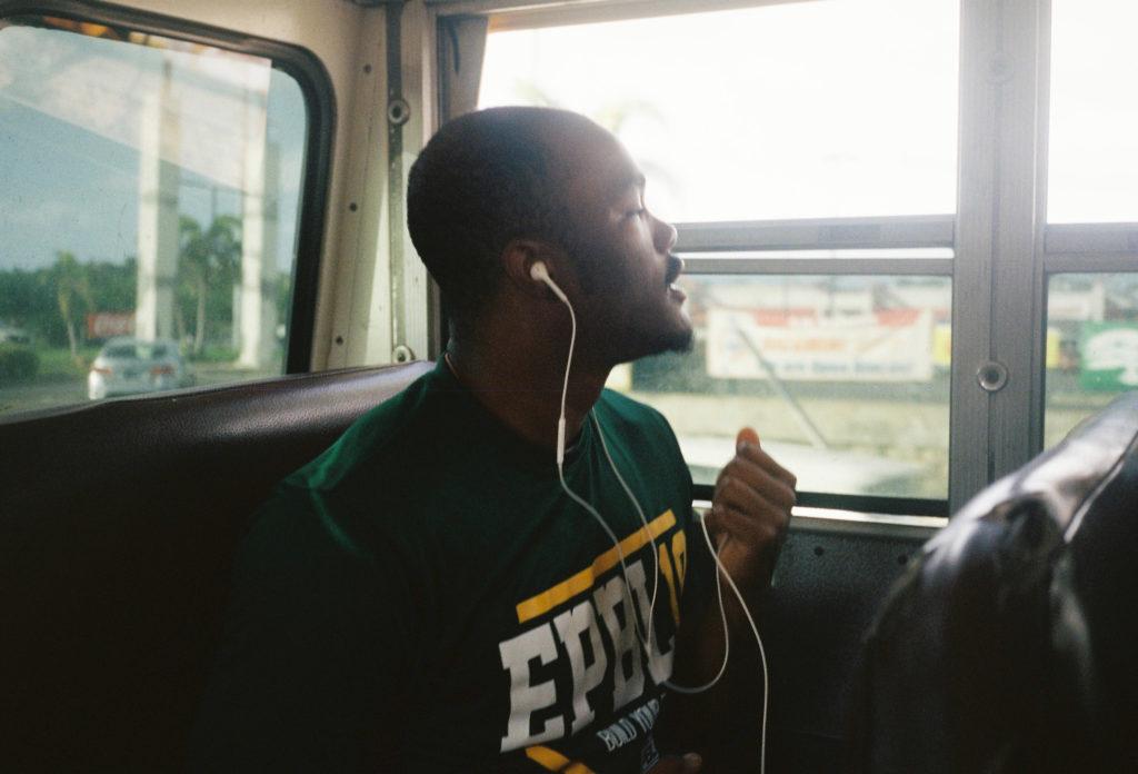 #1日1海外野球 #8 フランクリンとプエルトリコのバス