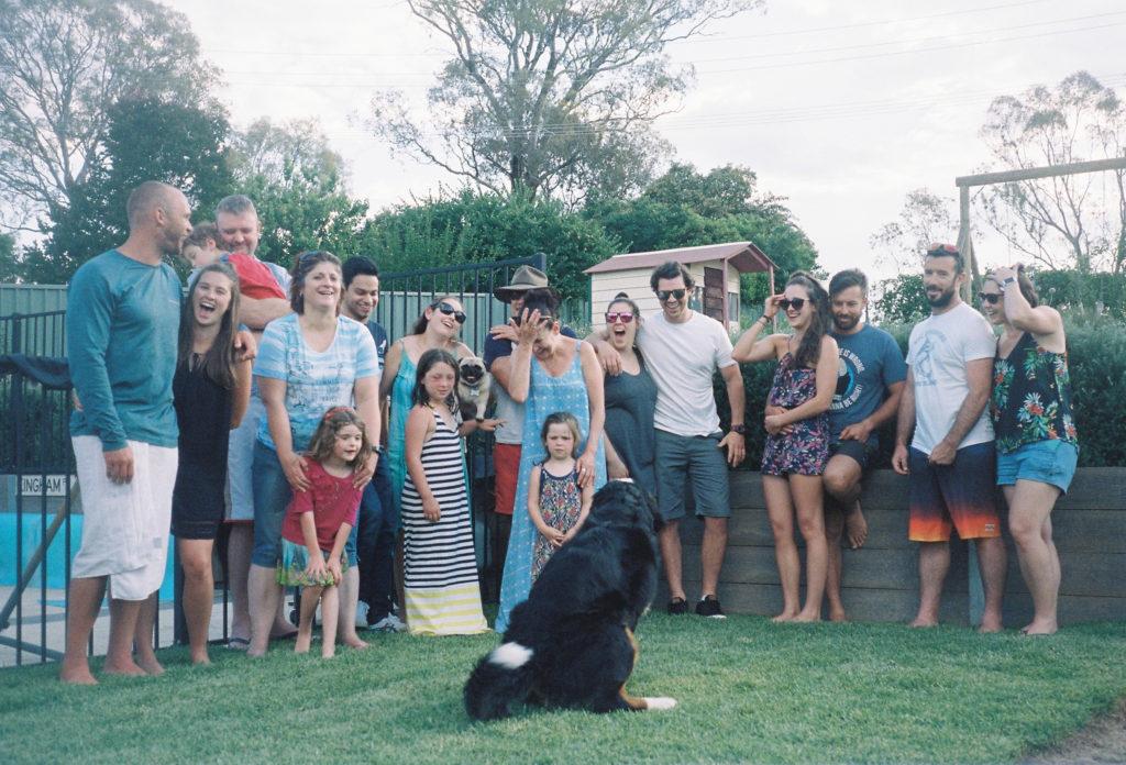 #1日1海外野球 #50 オーストラリアの家族写真